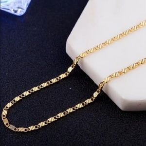 Other - 18kt gold plated 20 inch chain.